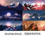 stock vector illustration... | Shutterstock .eps vector #588496934