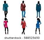 vector illustration of a... | Shutterstock .eps vector #588525650