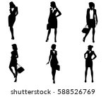 vector illustration of six... | Shutterstock .eps vector #588526769