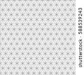 vector modern sacred geometry... | Shutterstock .eps vector #588539243