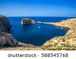 Gozo  Malta   Panoramic Skylin...