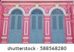 vintage window or sino... | Shutterstock . vector #588568280