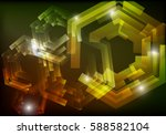mechanical abstract background. | Shutterstock . vector #588582104