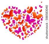 Beautiful Butterflies Heart ...
