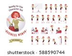 ready to use character set.... | Shutterstock .eps vector #588590744