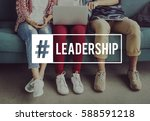 leadership agreement... | Shutterstock . vector #588591218