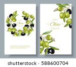 vector vertical banners with... | Shutterstock .eps vector #588600704