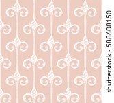 seamless pattern. vintage...   Shutterstock .eps vector #588608150