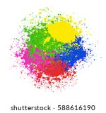 vector bright colorful banner... | Shutterstock .eps vector #588616190