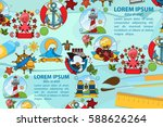 creative template with place... | Shutterstock .eps vector #588626264