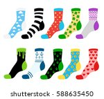 flat vector illustration... | Shutterstock .eps vector #588635450