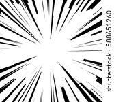 comic radial speed lines.... | Shutterstock . vector #588651260