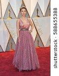 Small photo of Scarlett Johansson at the 89th Annual Academy Awards held at the Hollywood and Highland Center in Hollywood, USA on February 26, 2017.
