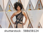halle berry at the 89th annual... | Shutterstock . vector #588658124