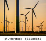Small photo of wind turbines