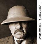 vintage explorer  | Shutterstock . vector #588698864