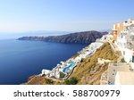 santorini    Shutterstock . vector #588700979