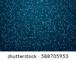 abstract technology   science... | Shutterstock . vector #588705953