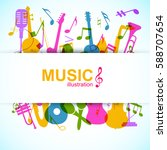 music design background with...