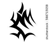 tribal designs. tribal tattoos. ...   Shutterstock .eps vector #588715058