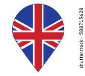 united kingdom of vector flag ... | Shutterstock .eps vector #588715628
