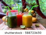 Fresh Juices Smoothie With...