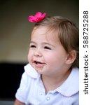 Lovely Little Girl Smiling...