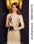 Small photo of Emma Stone at the 89th Annual Academy Awards - Press Room held at the Hollywood and Highland Center in Hollywood, USA on February 26, 2017.