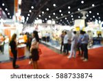 blur event technology fair with ... | Shutterstock . vector #588733874
