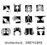 Set Of Vector Signs Of The...