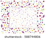 abstract background for... | Shutterstock .eps vector #588744806