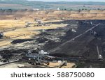 Open Pit Coal Mine With...