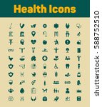 health icons | Shutterstock .eps vector #588752510