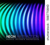 bright neon lines background...   Shutterstock .eps vector #588770840