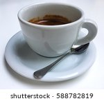 isolated coffee cup   espresso  ... | Shutterstock . vector #588782819
