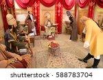 karim khan castle  shiraz. 23...   Shutterstock . vector #588783704