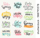 Spring Time Lettering Greeting...