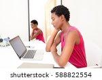 portrait of professional...   Shutterstock . vector #588822554