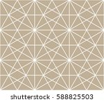 abstract geometric pattern with ... | Shutterstock .eps vector #588825503