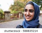 Portrait Of British Muslim...