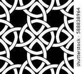 geometric pattern of... | Shutterstock .eps vector #588838964