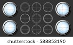 set of military design elements ... | Shutterstock .eps vector #588853190