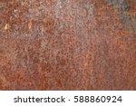 close up rust texture | Shutterstock . vector #588860924