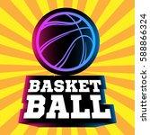 streetball logo | Shutterstock .eps vector #588866324
