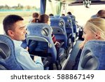 transport  tourism  road trip... | Shutterstock . vector #588867149