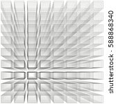 white color abstract infinity... | Shutterstock .eps vector #588868340