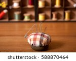 background is sewing... | Shutterstock . vector #588870464