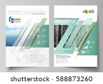 templates for brochure ... | Shutterstock .eps vector #588873260