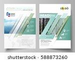templates for brochure ... | Shutterstock .eps vector #588873260