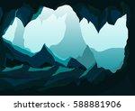 vector illustration landscape... | Shutterstock .eps vector #588881906